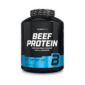Протеїн BioTech Beef Protein, 1.8 кг Полуниця