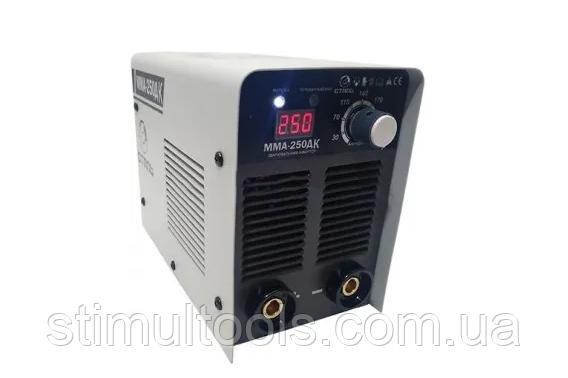 Сварочный инвертор Сталь ММА-250 ДК (варит алюминий)