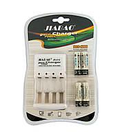 Зарядное устройство аккумуляторных батарей JIABAO JB-212 + аккумуляторы 4 шт. (AA)