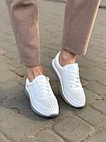 Жіночі шкіряні перфоровані кросівки в наявності. Розмір 36-41, фото 1