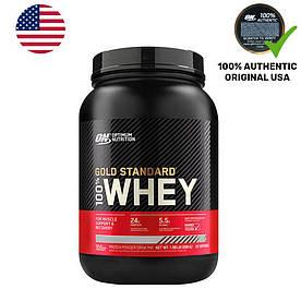 Протеїн Optimum Gold Standard 100% Whey, 907 грам Шоколад м'ята (898 грам)
