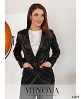 Піджак №2154-чорний, фото 1