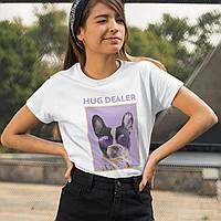 """Футболка женская """"Hug Dealer"""""""