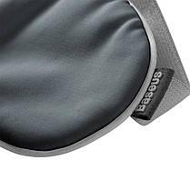 Маска для сну і відпочинку Baseus Eye Cover FMYZ-0G лайкра і бавовна пов'язка для сну і релаксу нічна, фото 2