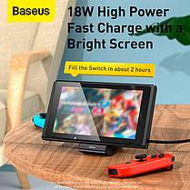 Док-станція Baseus Fast Charge Type-C для Samsung/Xiaomi/Huawei|18W| Black, фото 2