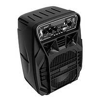 Портативна бездротова Bluetooth колонка валізу з мікрофоном HOCO Dancer outdoor wireless speaker DS07, фото 3