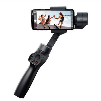 Стабілізатор ручної стедікам 3-х осьовий для телефону Baseus Control Smartphone Handheld Gimbal Stabilizer, фото 2