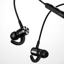 Бездротові навушники гарнітура вкладиші для телефону Bluetooth XO BS11 вакуумні чорні, фото 3