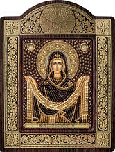 Наборы для вышивания бисером  Покров Пресвятой Богородицы