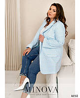 Пиджак №17246-1-голубой, фото 1