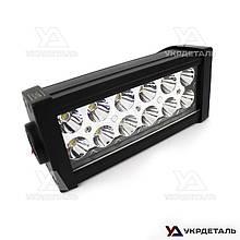 Светодиодная фара LED (ЛЕД) bar прямоугольная 36W (12 диодов) 252 mm | VTR