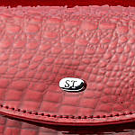 Кошелёк женский кожаный лаковый портмоне Sergio Torretti. (07-118), фото 4