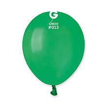 """Латексна кулька пастель темний зелений 5"""" / 13 / 13см Green"""