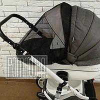 Сітка антимоскітна універсальна 90х50 для дитячої коляски люльки 3966 Білий