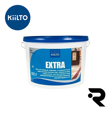 """Kiilto """"EXTRA"""" клей для пола и стен 1 л"""