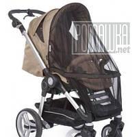 Чорна антимоскітна сітка 90*50 універсальна на дитячу коляску люльку прогулянку всіх типів 3966