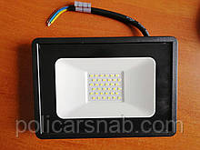 Вуличний енергозберігаючий світлодіодний прожектор без датчика руху 30Вт Lebron 30W 6000K Led освітлення
