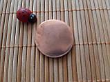 Скребок Гуаша Медный Монетка, фото 3