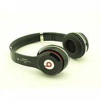 Наушники беспроводные Beats Pro с гарнитурой Bluetooth с micro CD FM MP3  SOLO-2 Черные (S-460)