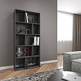 Книжная полка, стеллаж для книг и декора, этажерка для игрушек на 10 ячеек D-1, фото 2