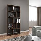 Книжная полка, стеллаж для книг и декора, этажерка для игрушек на 10 ячеек D-1, фото 6