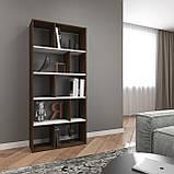 Книжная полка, стеллаж для книг и декора, этажерка для игрушек на 10 ячеек D-1, фото 5