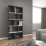 Книжная полка, стеллаж для книг и декора, этажерка для игрушек на 10 ячеек D-1, фото 4