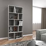 Книжная полка, стеллаж для книг и декора, этажерка для игрушек на 10 ячеек D-1, фото 9