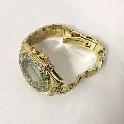 Годинники наручні жіночі Rolex Women Luxury. Колір: золотий, фото 2