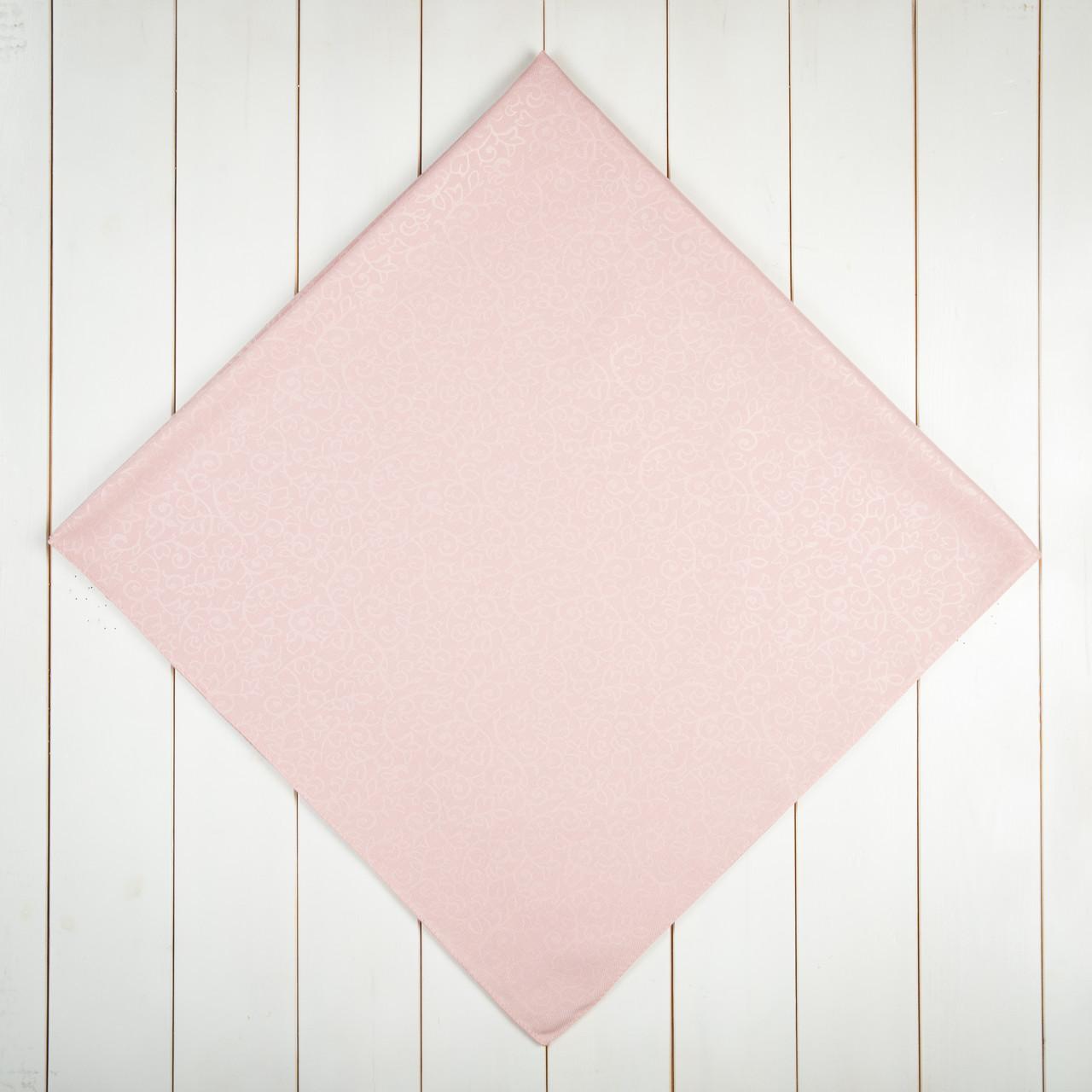 Кашемірова хустка однотонна 90х90см