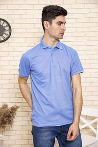 Поло мужское 168RA2-5 цвет Темно-голубой 1404085153