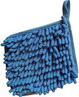 Мочалка із мікрофібри для витирання крейди і маркера з дошки або плівки, фото 1