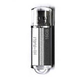 Накопичувач USB 16GB Hi-Rali Corsair серія срібло