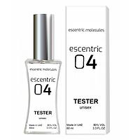 Тестер Escentric Molecules Escentric 04 унисекс, 60 мл