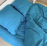 Комплект постельного белья однотонный Бязь GOLD 100% хлопок Черного цвета, фото 2