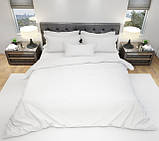 Комплект постельного белья однотонный Бязь GOLD 100% хлопок Черного цвета, фото 8