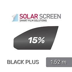 Solar screen IR CARBON / BLACK PLUS 85 C, пропускаемость 15% - 1.524 m
