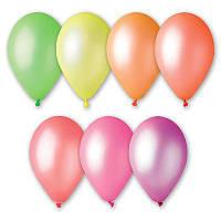 """Повітряні кульки """"Неон асорті 12"""" 100 шт."""