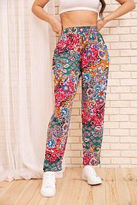 Штани жін.172R69-1 колір різнобарвний