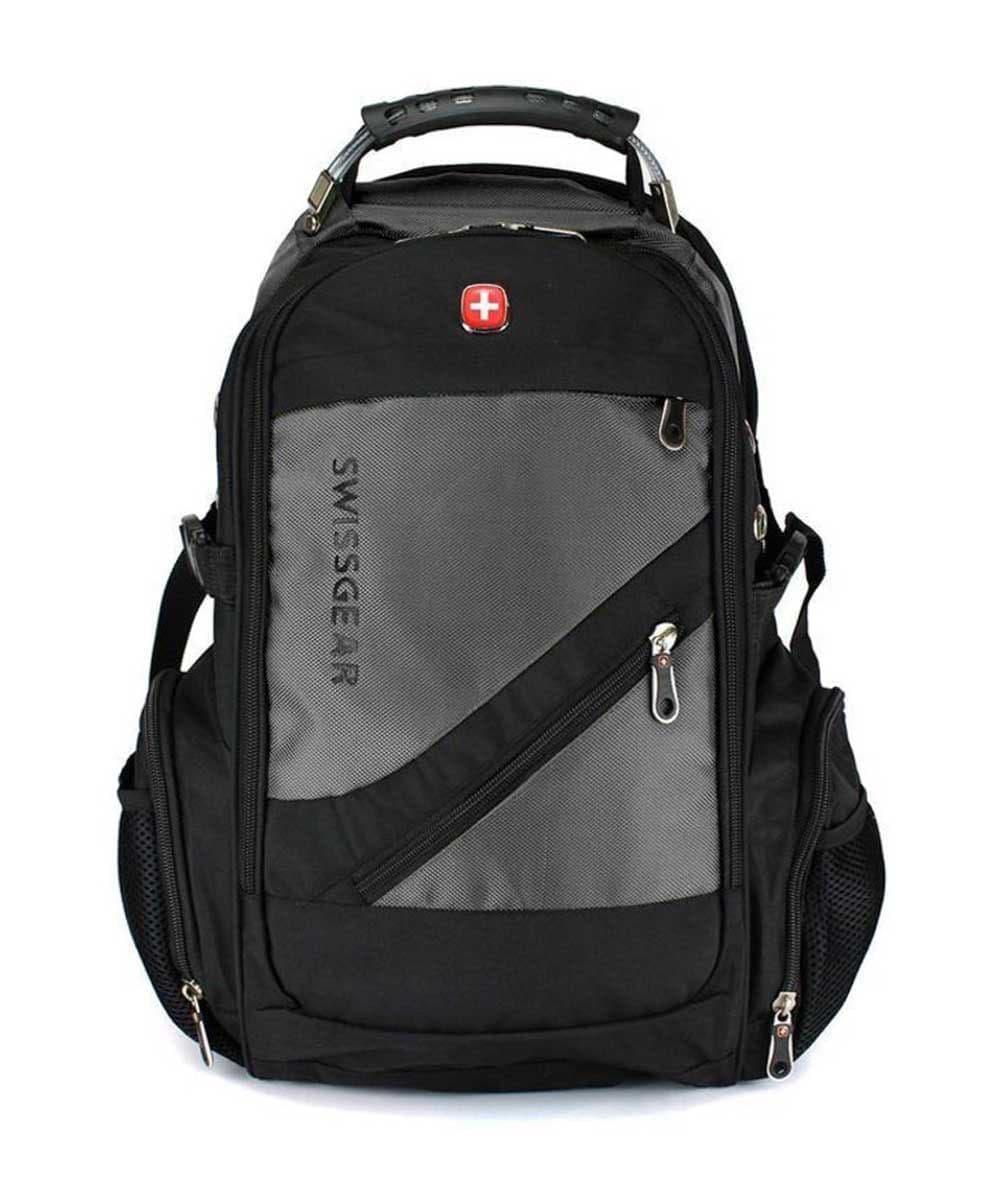 Швейцарський рюкзак MOD-8810 з накидкою від дощу Сірий