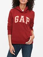 Женская толстовка худи GAP красная кофта с капюшоном