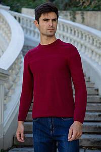 Джемпер мужской 154R2024 цвет Бордовый