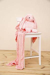 Іграшка-плед 154R102 колір Рожевий