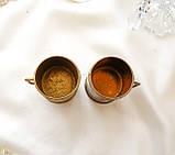 Старая бронзовая чашечка, подставка под зубочистки, солонка, бронза,, Германия, фото 5