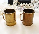 Старая бронзовая чашечка, подставка под зубочистки, солонка, бронза,, Германия, фото 2