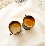 Старая бронзовая чашечка, подставка под зубочистки, солонка, бронза,, Германия, фото 7
