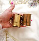 Стара бронзова чашечка, підставка під зубочистки, солонка, бронза,, Німеччина, фото 6
