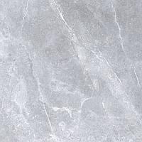 595x595 Керамограніт підлогу Space Stone Спейс Стоун сірий глянець, фото 1