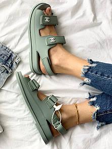 "Женские сандали Chanel ""Dad"" sandals 40"