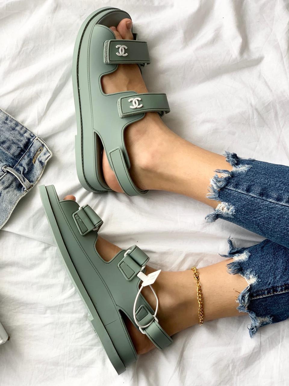 """Жіночі Босоніжки Chanel """"Dad"""" sandals"""